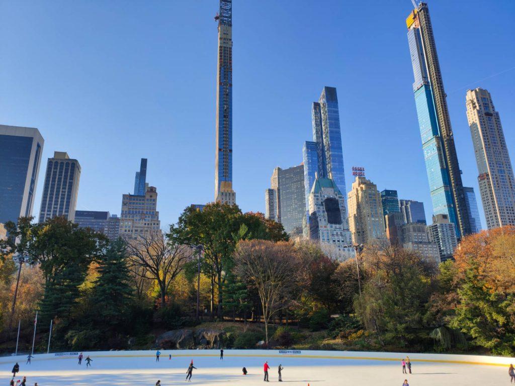 Pista di pattinaggio Central Park