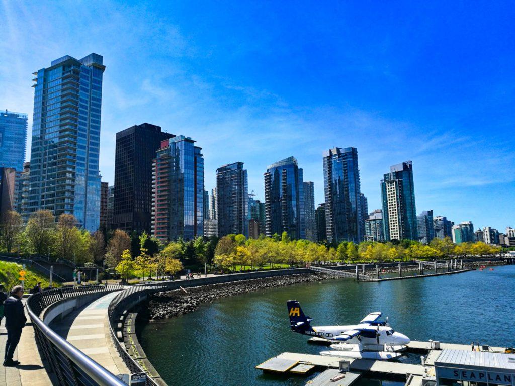 Grattacieli di Vancouver
