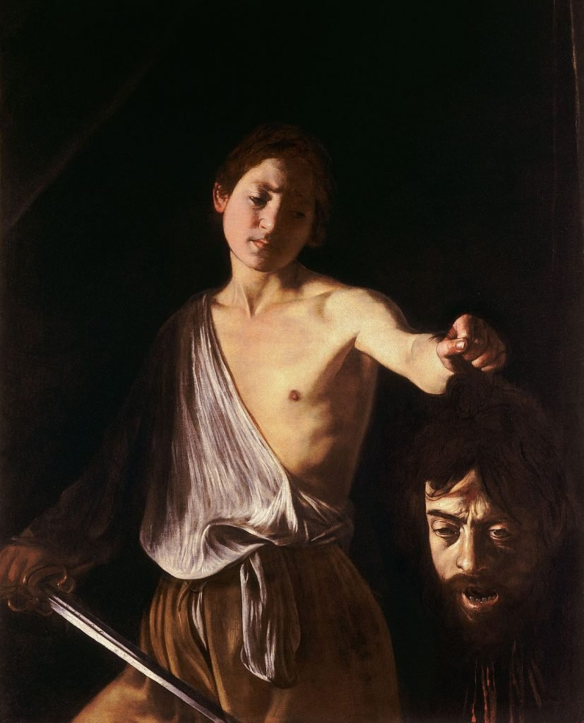 Davide con la testa di Golia