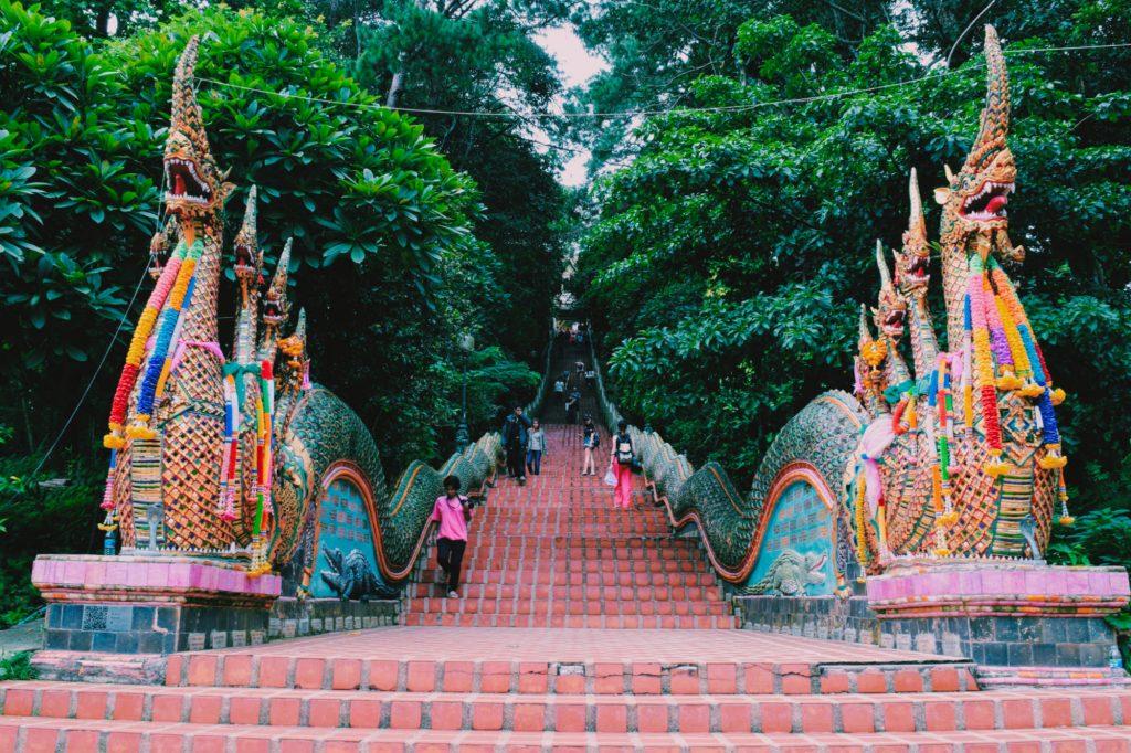 Scalinata Thailandia
